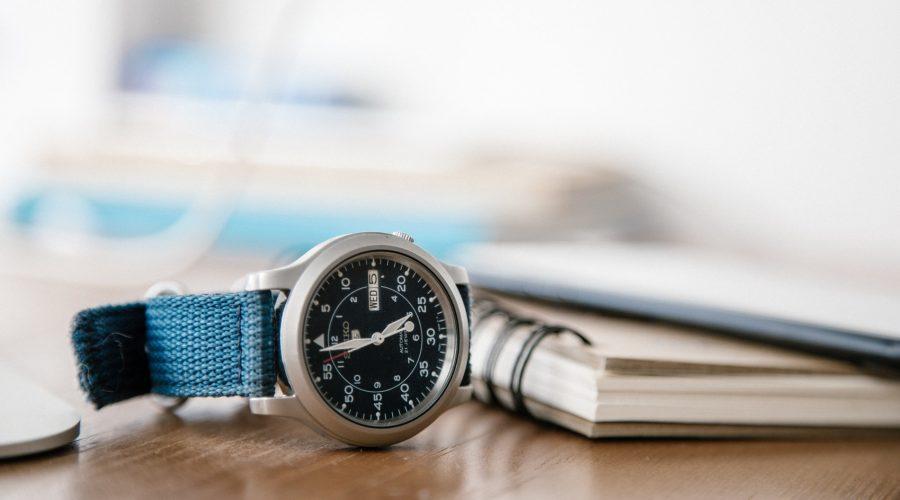 Klocka som visar hur lång tid tar en skilsmässa