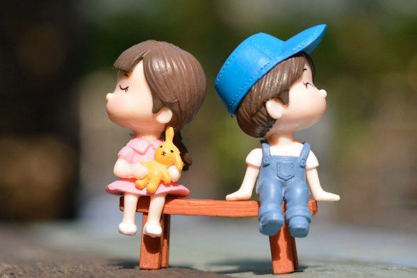 Ett par som ska skilja sig undrar hur en skilsmässa går till